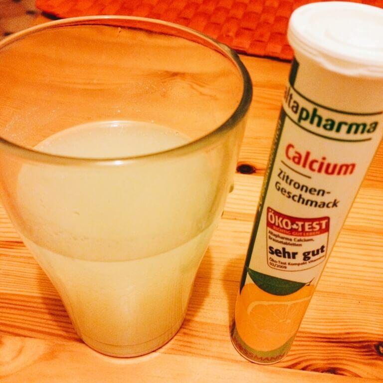 ドイツ タブレット 溶かして飲む サプリメント