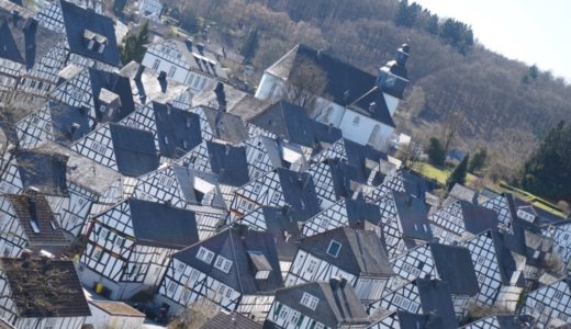 【フロイデンベルク観光】モノトーンの絶景が望めるドイツの田舎町