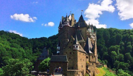 【ドイツ三大美城】エルツ城(Burg Eltz)への行き方は車?バス?徒歩でハイキング?写真付きで詳しくご紹介!