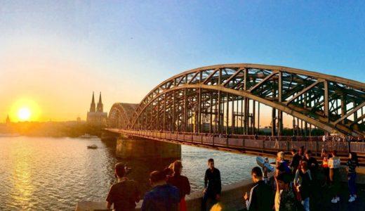 【写真撮影スポット】ドイツの世界遺産ケルン大聖堂の全景を撮るならここがおすすめ!ホーエンツォレルン橋の愛の南京錠とセットで観光しましょう!