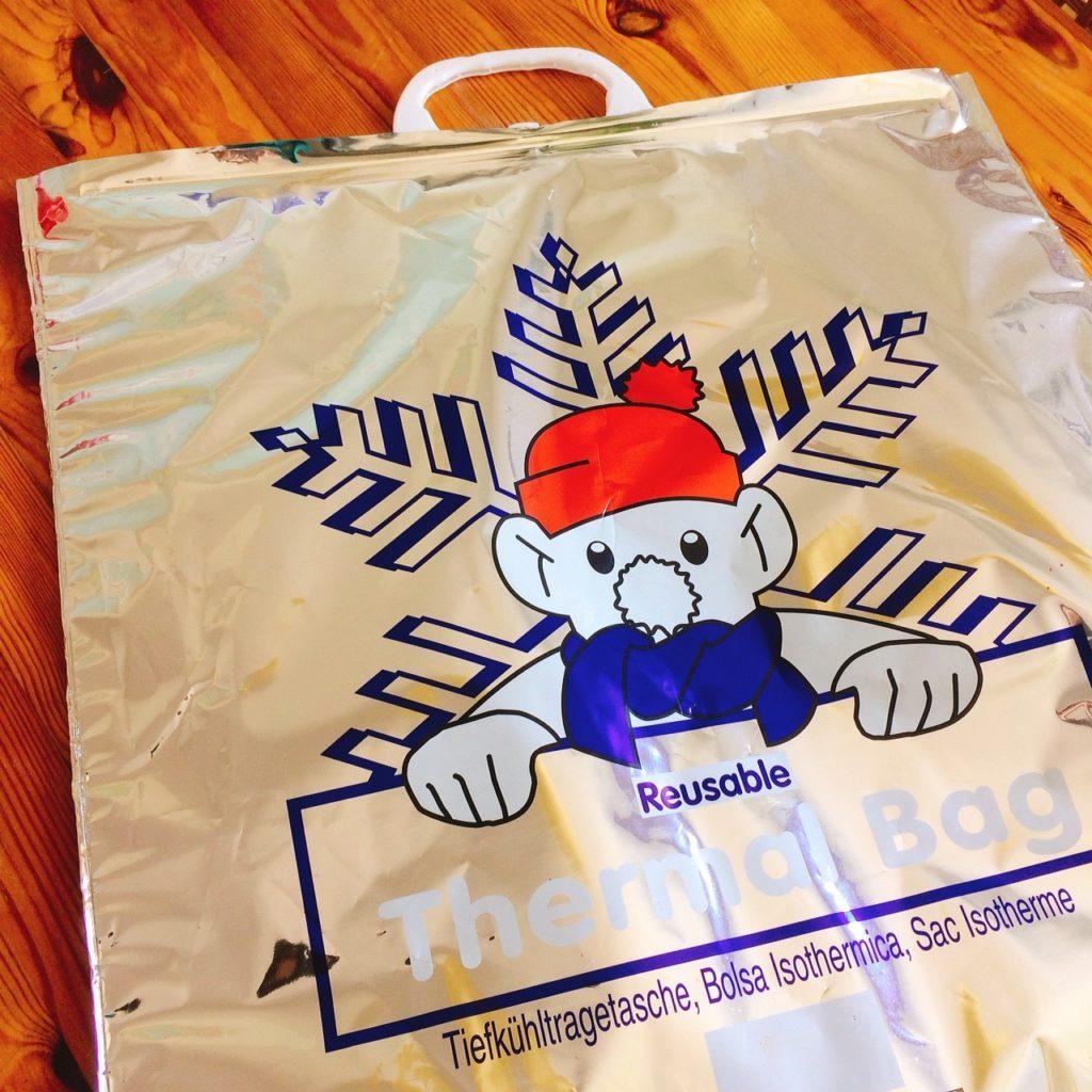 北海水産の保冷バッグ