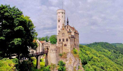 【行き方】ドイツ・リヒテンシュタイン城|おとぎ話に出てくるようなお城