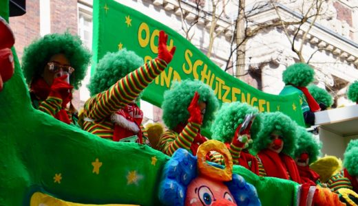 デュッセルドルフのカーニバル2021|薔薇の月曜日はお菓子が降る日