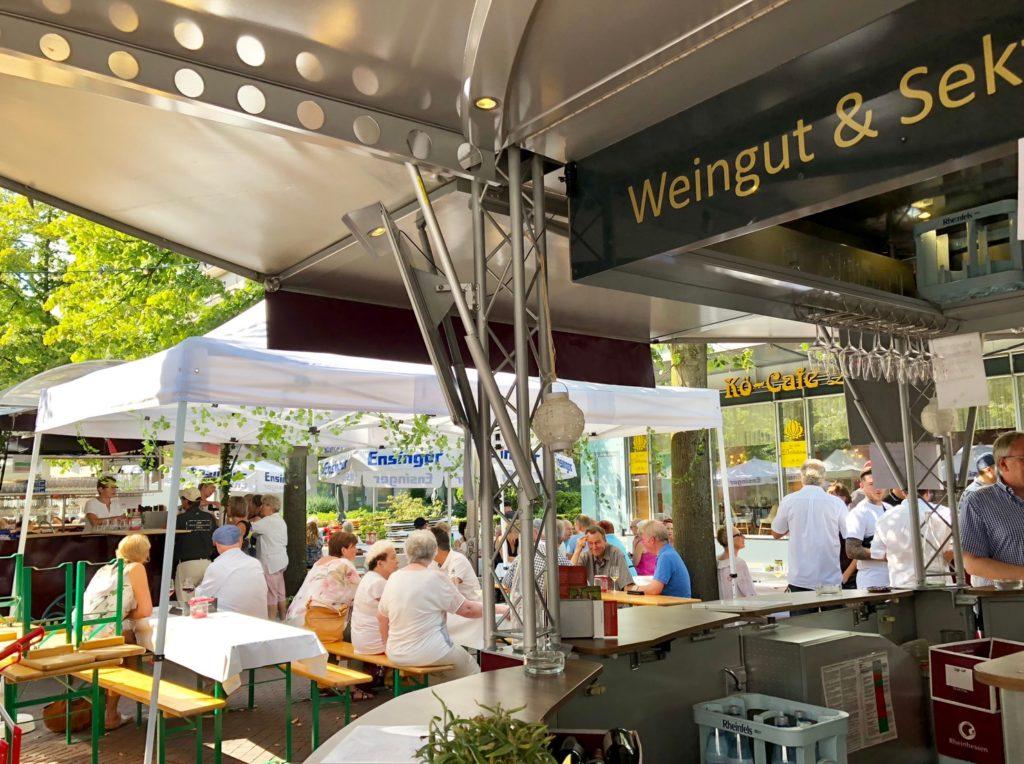デュイスブルクのワイン祭り