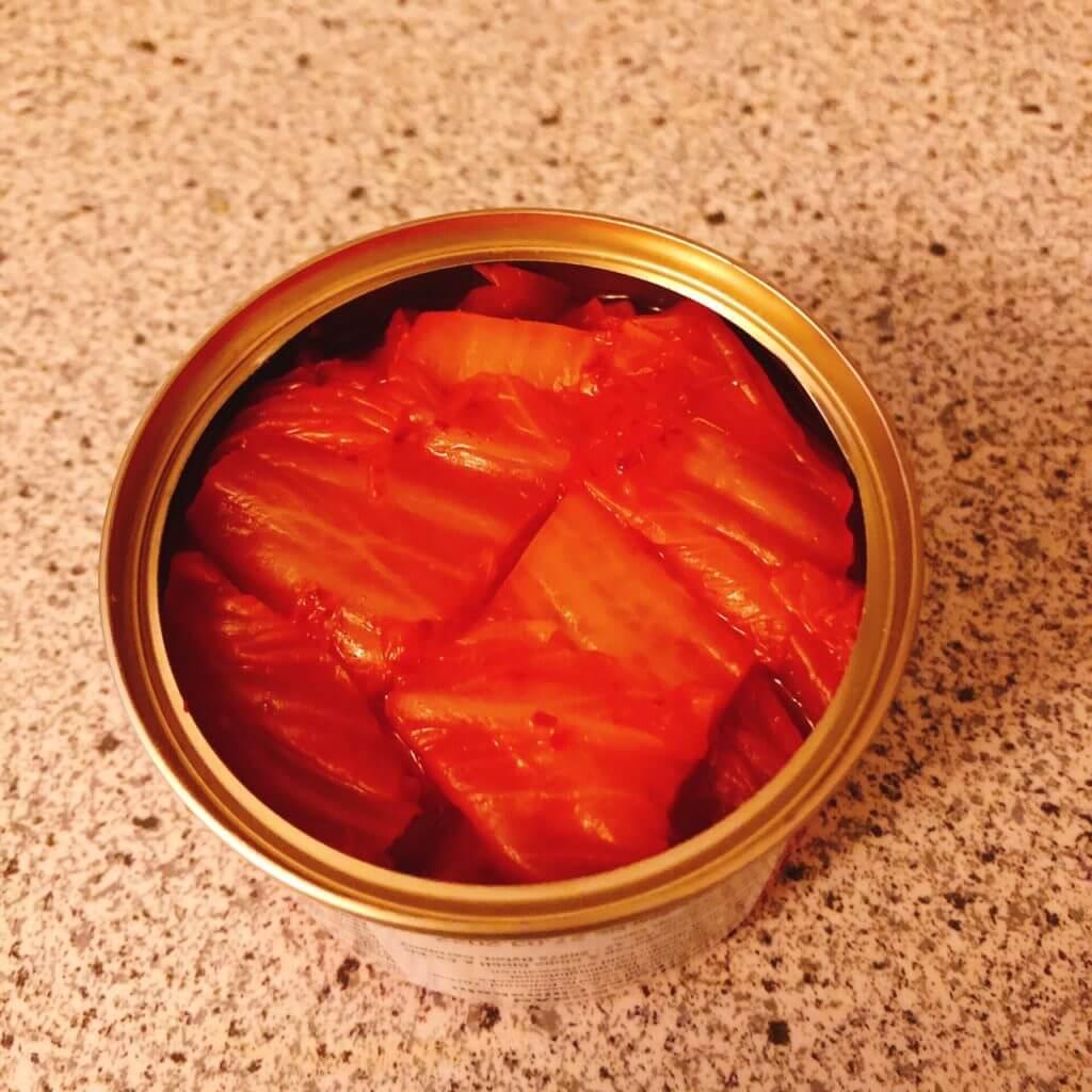 キムチ 缶詰 ドイツで買える