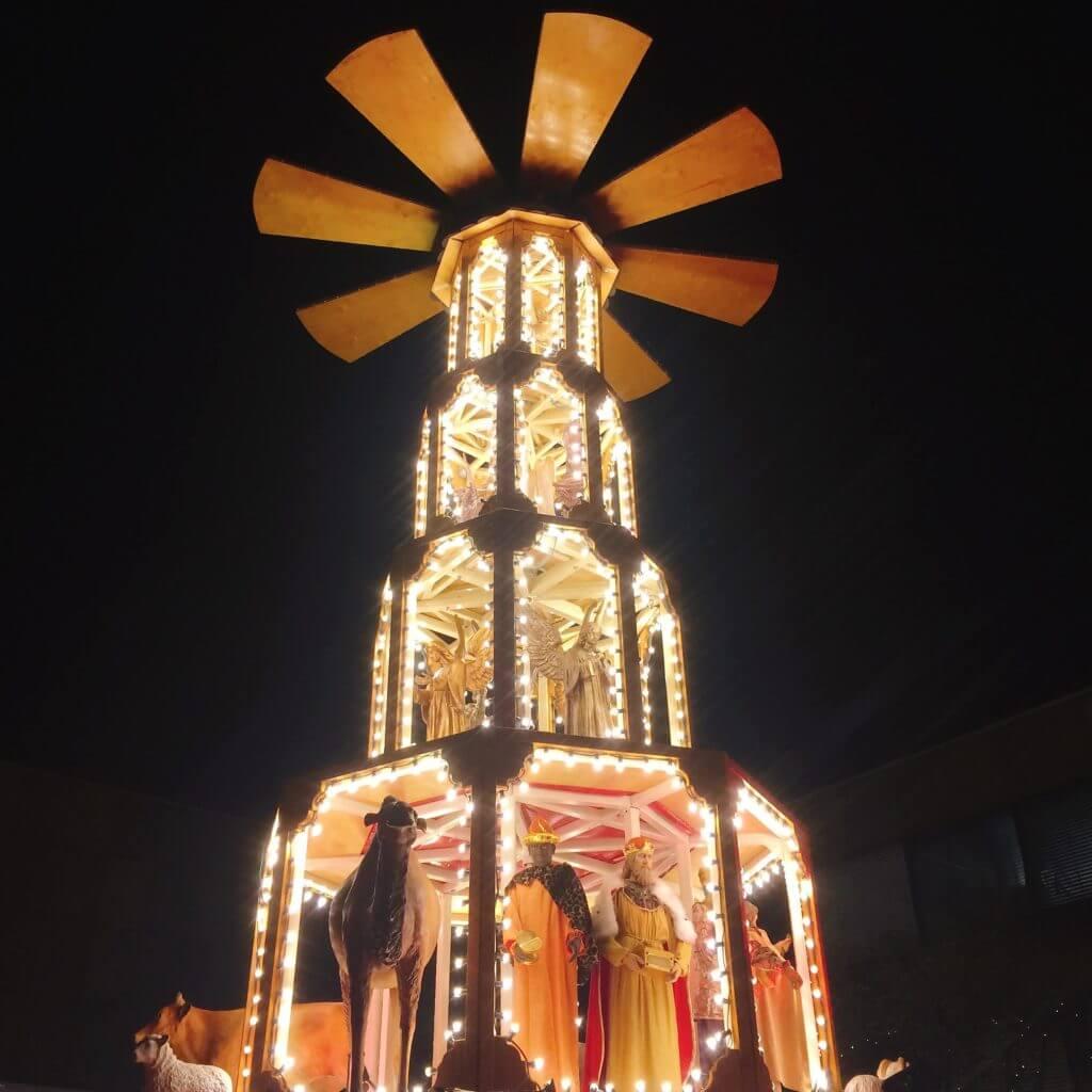 ケルン クリスマスピラミッド