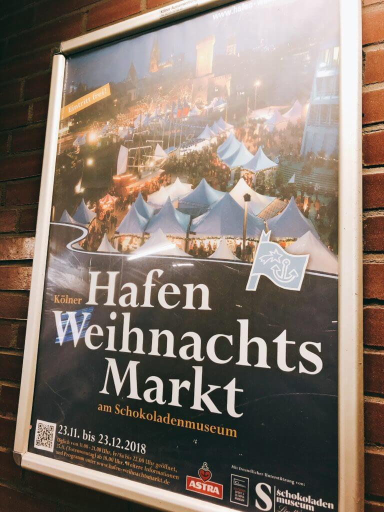 ケルン 港のクリスマスマーケット