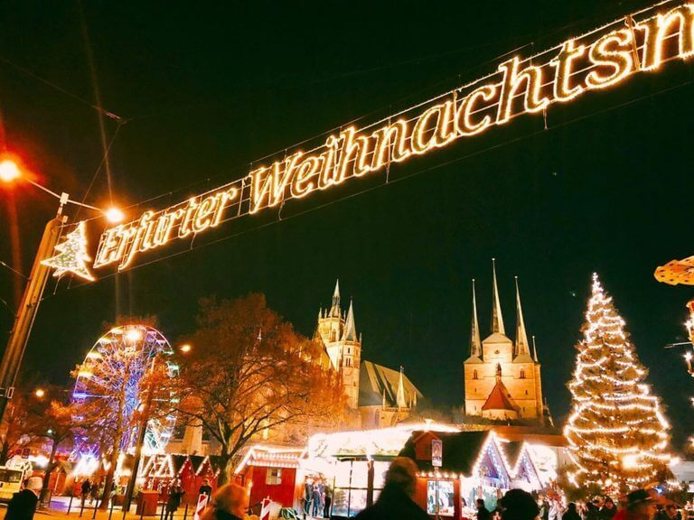 エアフルト ドム広場 クリスマスマーケット