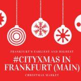 cityxmas フランクフルト クリスマスマーケット
