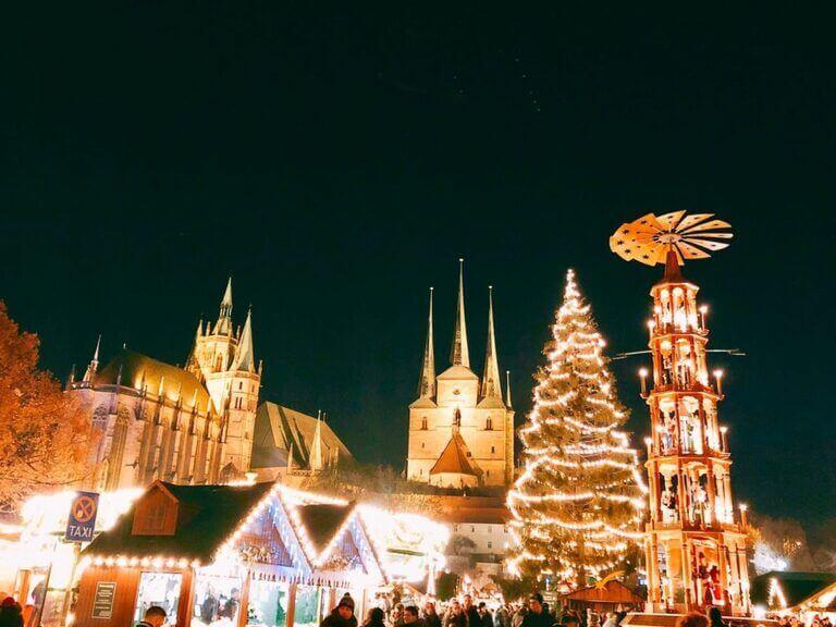 エアフルト クリスマスマーケット