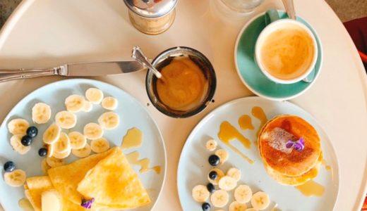【Lina's Coffee】パンケーキが美味しかったデュッセルドルフのカフェ|ヴィーガンやグルテンフリー中心