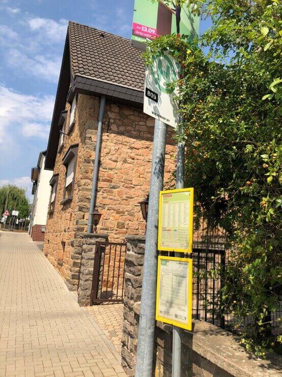 Wachendorf Ort バス停 Bruder-Klaus-Feldkapelle/ブラザー・クラウス野外礼拝堂(ドイツ)