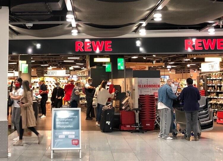 REWE デュッセルドルフ空港