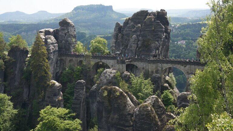 ザクセンスイス バスタイ橋