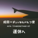 【ANAドイツ直行便】成田=デュッセルドルフ運休|2021年サマーダイヤ