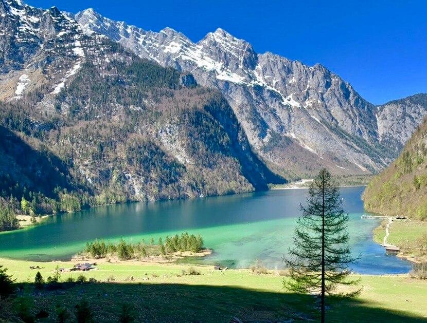 ドイツ ケーニヒス湖