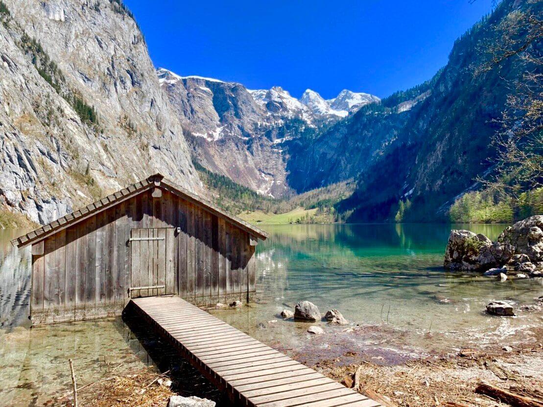 ドイツ オーバー湖