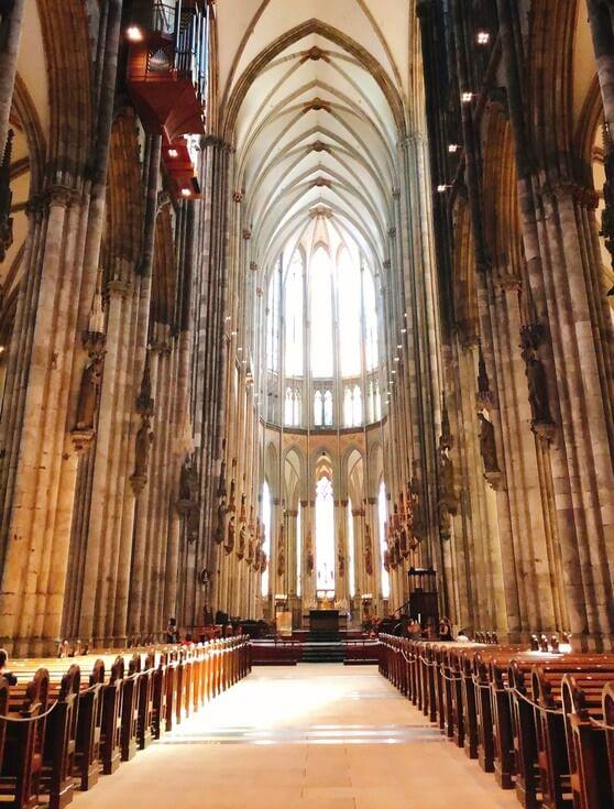 ケルン大聖堂 身廊